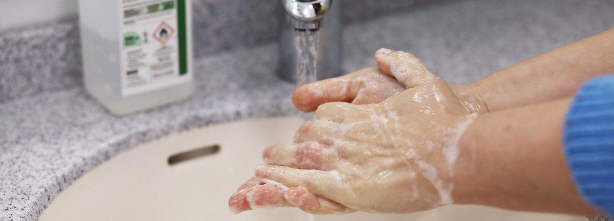 Hoe was je je handen